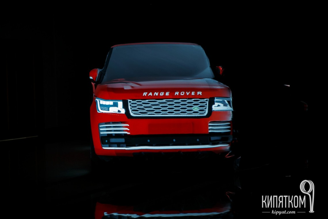 Range rover 3D-map
