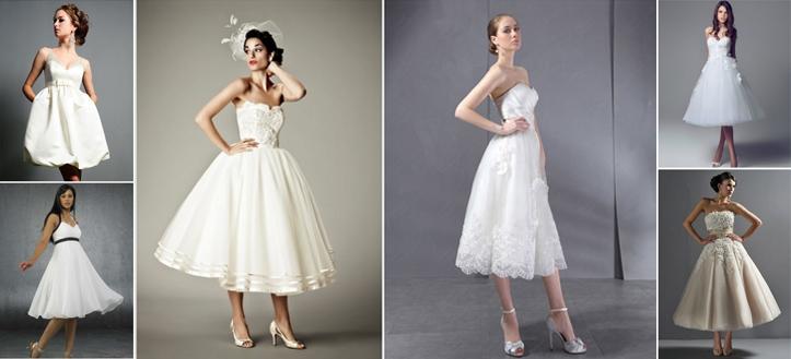 3aace78ec46 Короткие свадебные платья – популярная новинка для ярких невест